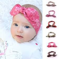 baby bands 6pcs lot bands for baby baby rabbit ears elastic hair