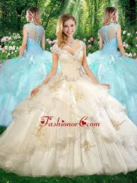 quinceanera dresses 2016 2016 beautiful straps chagne quinceanera dresses with beading