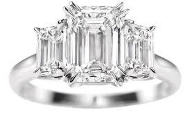 harry winston wedding rings engagement ring emerald cut engagement