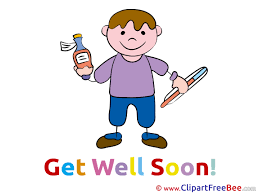 get well soon kid kid boy get well soon clip for free