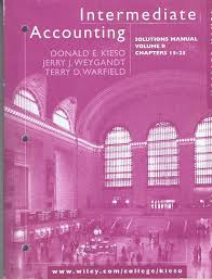 intermediate accounting solutions manual volume ii chapters 15 25