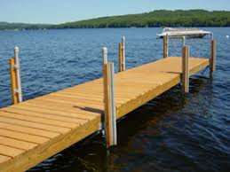carollza wood boat dock plans