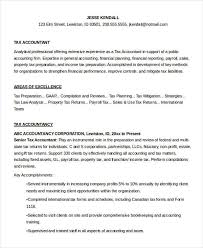 Tax Preparer Resume Sample by 24 Accountant Resume Templates In Pdf Free U0026 Premium Templates