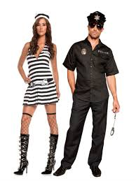 police inmate couples costume clever halloween costumes