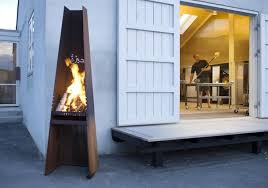 Sale Chiminea Rais Gizeh Outdoor Wood Fireplace And Grill
