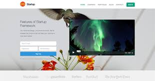 templates for video website free responsive website html and css templates designmodo