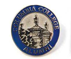 alumni pin columbia college alumni cling or lapel pin at totally free