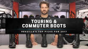 best leather motorcycle boots best motorcycle touring u0026 commuting boots 2017 at revzilla com