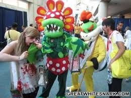 Plants Zombies Halloween Costume 7 Peashooter Images Zombie Costumes Costumes