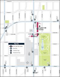 Portland Light Rail Map by Grand Opening A Chs User Guide To Capitol Hill Station Chs