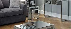 Venetian Mirrored Console Table Venetian Mirrored Console Table Dunelm