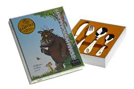 gruffalo 4 piece childrens cutlery set amazon co uk kitchen u0026 home