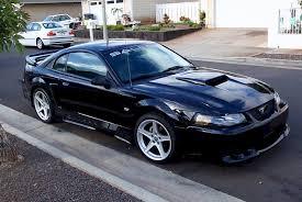 A Black Mustang 2004 Saleen