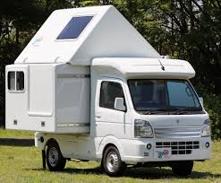 kei truck honda n truck plus other whacky stuff from japan camping car show