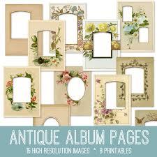 antique photo album gorgeous antique album pages kit tgf premium the graphics fairy