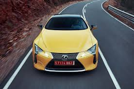 lexus yellow warning light 2018 lexus lc 500 lc 500h first drive review when concept meets