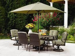 patio table lazy susan patio table umbrella hole grommet patio decoration