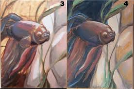 process for oil painting lisa brown
