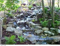 Backyard Waterfalls Ideas Best 25 Backyard Waterfalls Ideas On Pinterest Garden Waterfall
