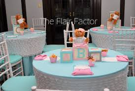 Baby Shower Table Centerpieces by Baby Shower Cake Table Decorations