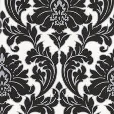 Black And White Wallpaper Ebay   superfresco easy paste the wall majestic damask black white