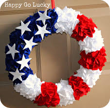 fourth of july wreath and other patriotic ideas inspired by pinterest