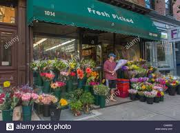 local flower shops hoboken nj usa local small business flowers shop front on