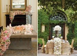 Bride And Groom Table Decoration Ideas Wedding Trends Cascading Flowers Belle The Magazine