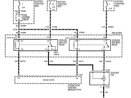 i need a schematic for the electrical fan system on a 2000 ford