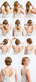 best hair styles for short neck and no chin 12 amazing updo ideas for women with short hair diy wedding hair