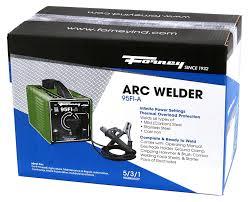 forney 301 arc welder 95fi a 120 volt 95 amp arc welding stick