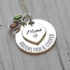 grandmother necklaces personalized grandmother necklaces