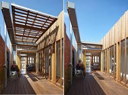 convertible courtyards house megowan architectural