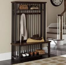 modern coat rack bench coat rack bench in vitality and glamour