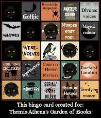 booklikes halloween bingo 2017 u2013 lioness at large