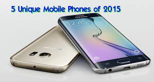 5 unique mobile phones of 2015 youtube
