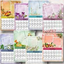 new year 2016 calendar frame template psd free download