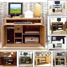 Hideaway Computer Desk Cabinet Hidden Desk Furniture Desk Hidden Computer Desk Furniture Quick