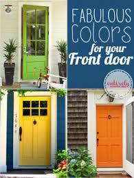 30 front door ideas and paint colors for exterior wood door