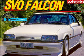 1990 Falcon 1990 Ford Falcon Ea Ii Brings Back The Bent Eight Wheels