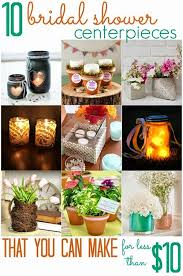 bridal shower centerpieces all cheap crafts 10 diy bridal shower centerpieces