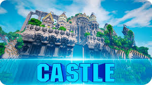 Castle Maps For Minecraft Minecraft Grandeena Castle Cinematics Epic Castle Map W