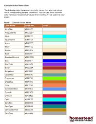 2017 color chart fillable printable pdf u0026 forms handypdf