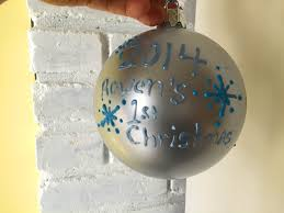 sprinkled with glitter baby s ornament