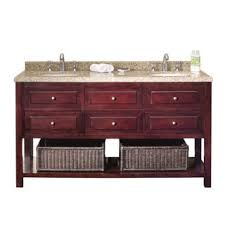 ove decors keith 60 inch double sink bathroom vanity with marble