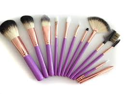 amazon com makeup brushes set by boutiguaire is a professional 11
