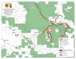 Oregon Forest Fires Map by South Central Oregon Fire Management Partnership Jade Creek Fire