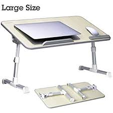 Computer Table For Couch Amazon Com Large Size Adjustable Laptop Bed Coach Table