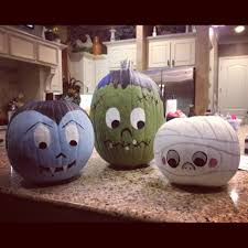 10 cute spooky and fun diy painted pumpkin ideas paintings