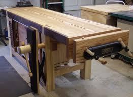Wooden Bench Vise Screws by Wooden Vise The Burton Workshop